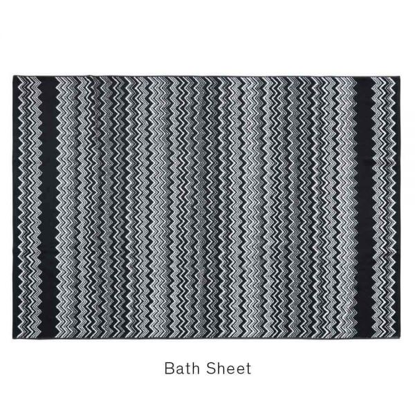 Detail of KEITH #601 TOWEL by MISSONI HOME