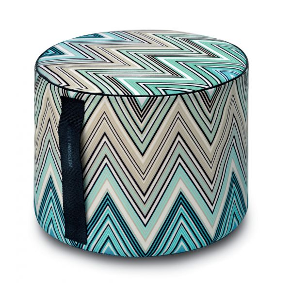 KEW 170 OUTDOOR CYLINDRICAL POUF Ø40x30 BY MISSONI HOME
