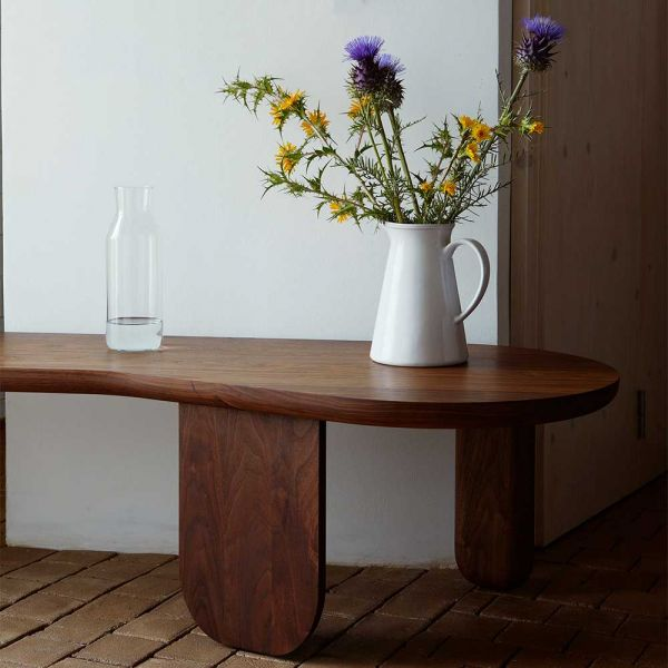 KIM NESTING TABLE BENCH LONG by LUCA NICHETTO