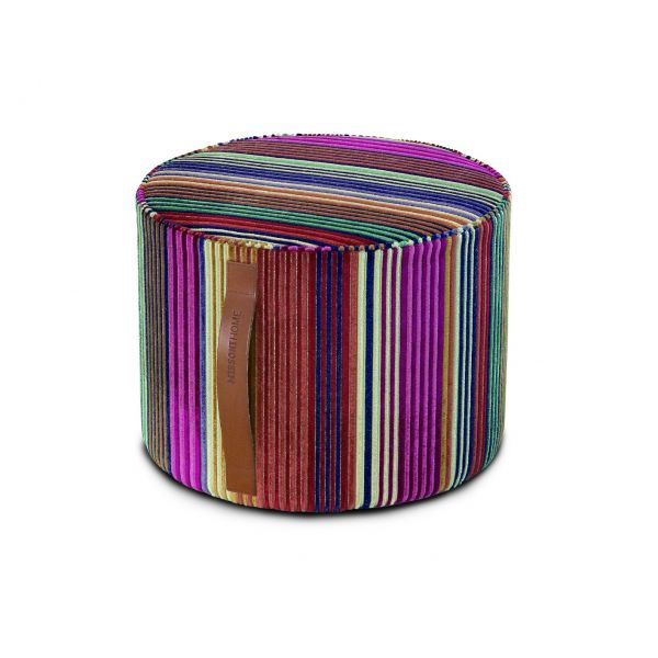 LIBERTAD 159 CYLINDRICAL POUF BY MISSONI HOME