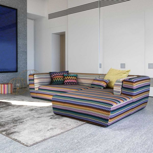 INNTIL SECTIONAL SOFA by MISSONI HOME