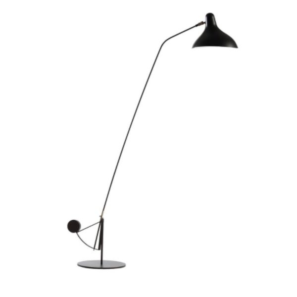 MANTIS FLOOR LAMP ROUND BASE BY DCW EDITIONS