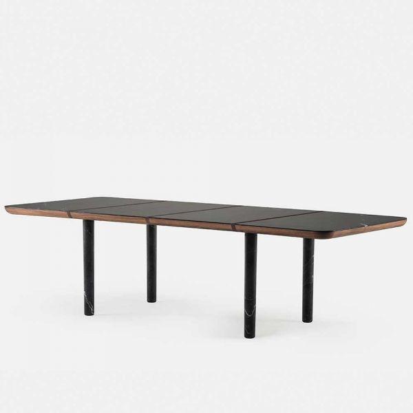 MARLON DINING TABLE / MARBLE by LUCA NICHETTO for De La Espada