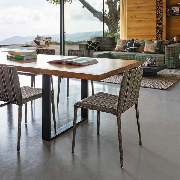 MISS DINING CHAIR by MISSONI HOME at Spence & Lyda Sydney Showroom