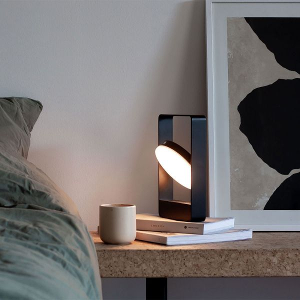 MOURO TABLE LAMP Black by CASE FURNITURE