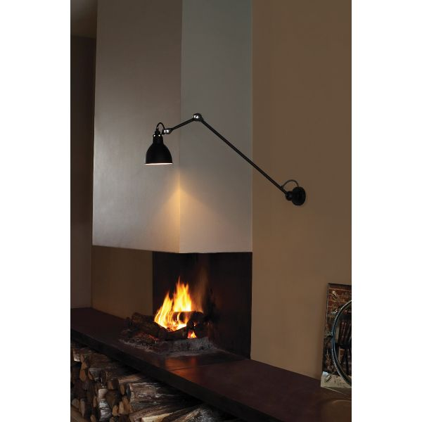 GRAS 304L60 WALL/CEILING LAMP BLACK BY DCW EDITIONS