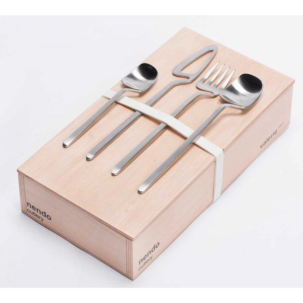 NENDO Skeleton cutlery GIFT BOX 16 PCS SS - VALERIE OBJECTS