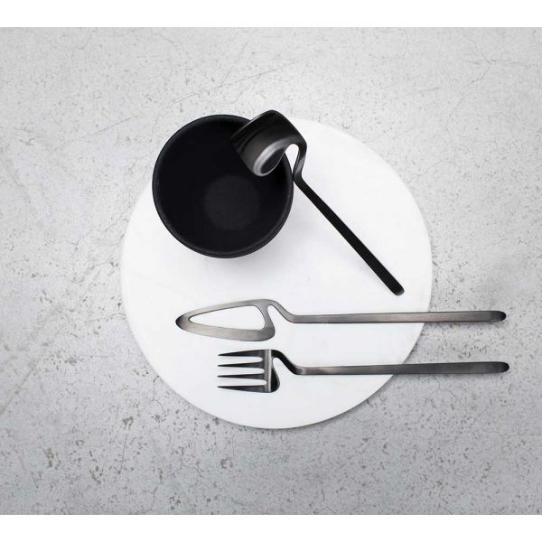 NENDO Skeleton cutlery GIFT BOX 16 PCS BLACK - VALERIE OBJECTS