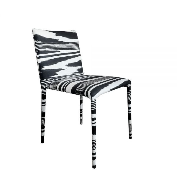 MISS UPHOLSTERED DINING CHAIR by MISSONI HOME