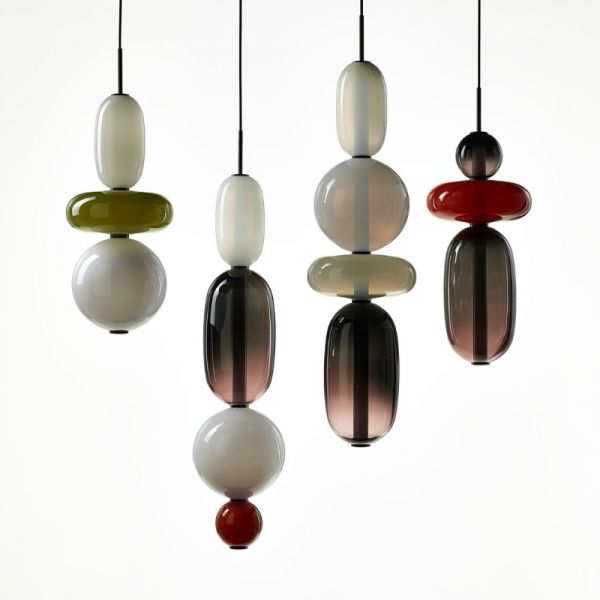 PEBBLES PENDANT LIGHT by BOMMA