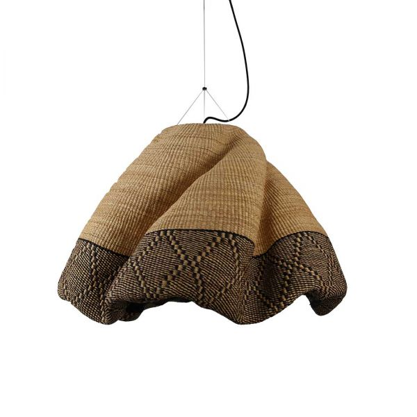 BOLGATANGA Natural fiber PENDANT By PET LAMP