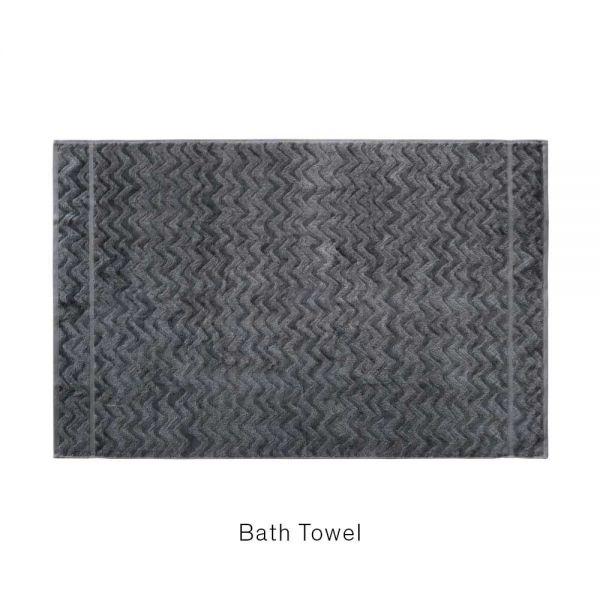 REX 86 TOWEL Bath Sheet by MISSONI HOME