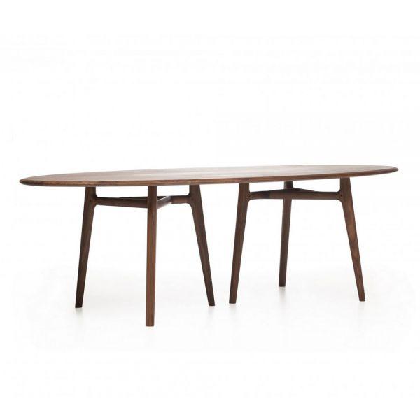 SOLO OVAL DINING TABLE designed by NERI & HU for De La Espada