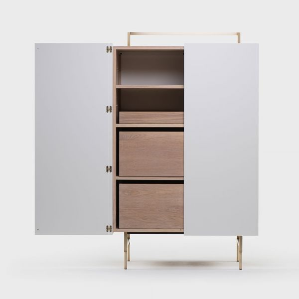 TRUNK TALL CABINET By NERI & HU