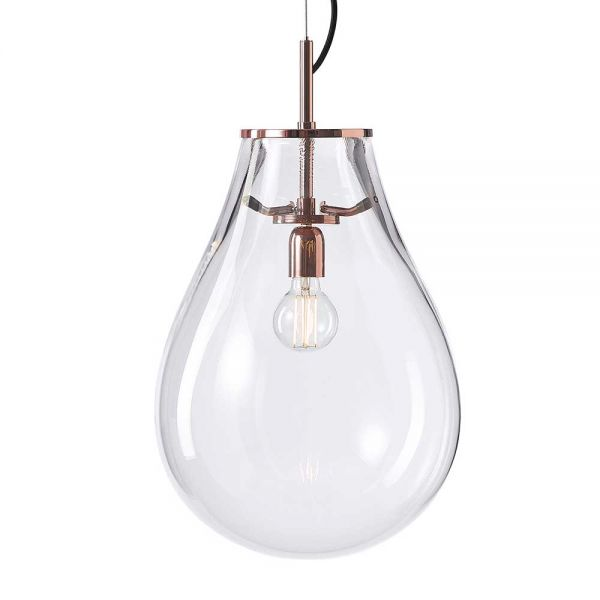 TIM GLASS PENDANT LIGHT by BOMMA