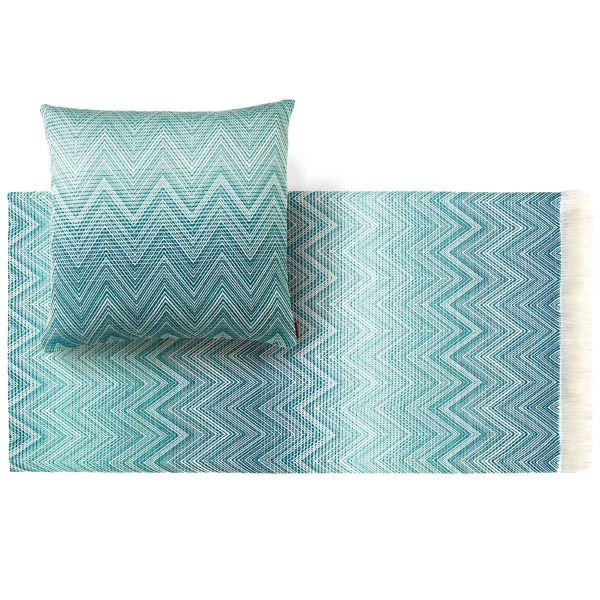 TIMMY 741 THROW AND CUSHION by MISSONI HOME