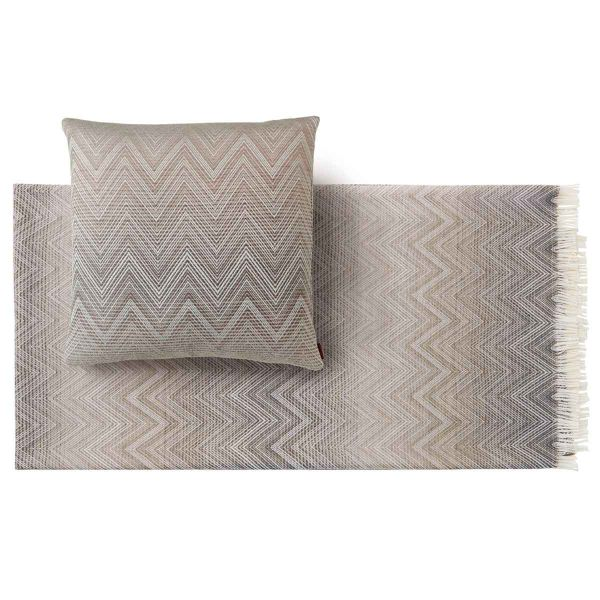 TIMMY 481 THROW AND CUSHION by MISSONI HOME