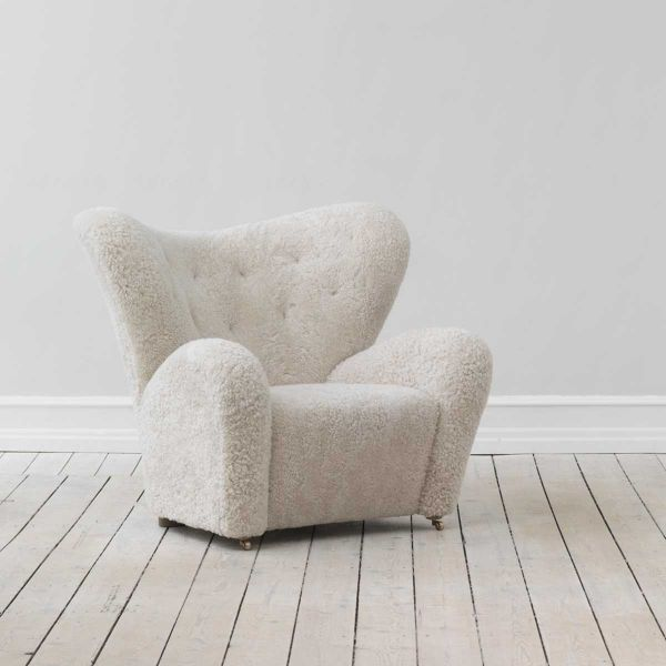 THE TIRED MAN LOUNGE CHAIR by BY LASSEN