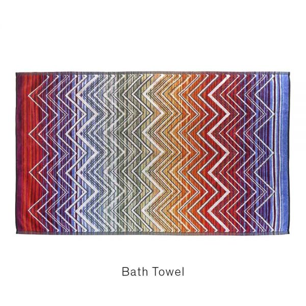 TOLOMEO TOWEL bath sheet #159 by MISSONI HOME