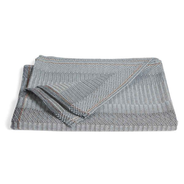 UNA CIELO cotton THROW by WALLACE and SEWELL