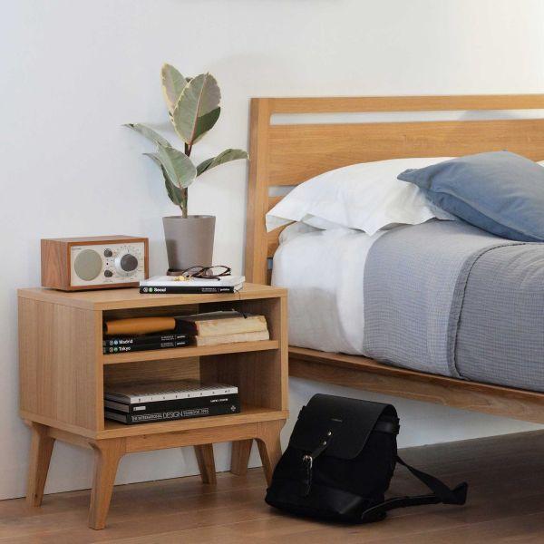VALENTINE BEDSIDE designed by Matthew Hilton for CASE FURNITURE