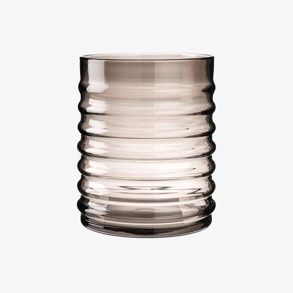 WILLY VASE SMOKE BY LOUISE ROE