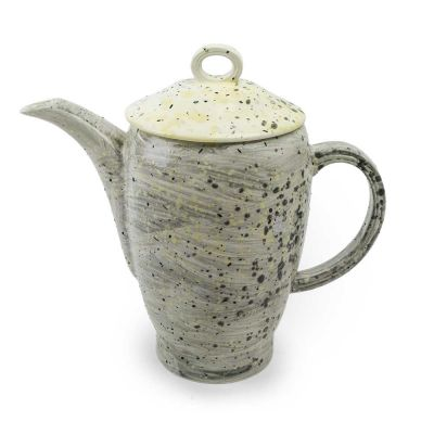 ACCIDENTAL EXPRESSION TEAPOT GREY SPLATTER - 1882