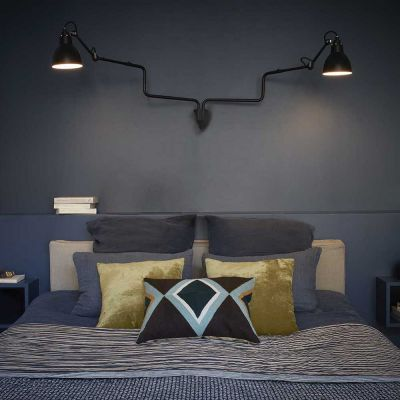 GRAS 303 DOUBLE WALL LAMP BLACK - DCW EDITIONS