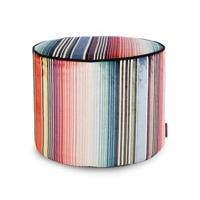 ANVERSA 159 CYLINDRICAL POUF - MISSONI HOME