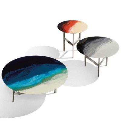 ART GLASS SIDE TABLE - MISSONI HOME