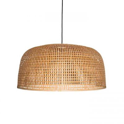 EX DISPLAY DOPPIO GRID LAMPSHADE NATURAL - AY ILLUMINATE
