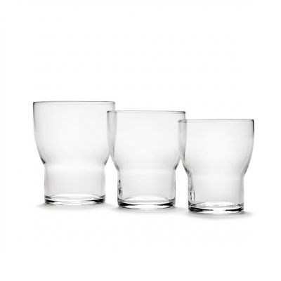 EDIE GLASS 7 / 8.6 TRANSPARENT BOX OF 4 - ANN DEMEULEMEESTER