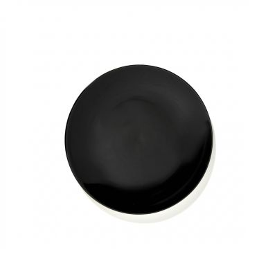 DE' PLATE 17.5 BLACK BOX OF 2 - ANN DEMEULEMEESTER