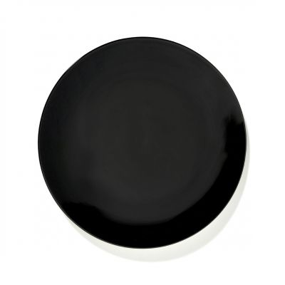 DE' PLATE 24 BLACK BOX OF 2 - ANN DEMEULEMEESTER