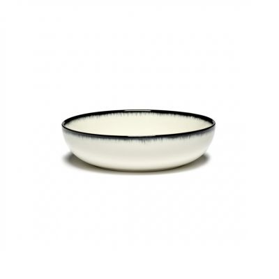 DE' HIGH PLATE 15.5 B&W VAR.A - BOX OF 2 - ANN DEMEULEMEESTER