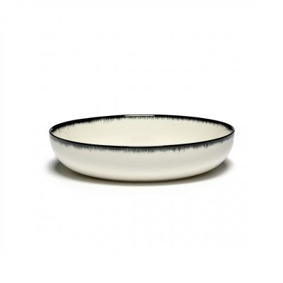 DE' HIGH PLATE 18.5 B&W VAR.A BOX OF 2 - ANN DEMEULEMEESTER