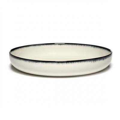 DE' HIGH PLATE 24 B&W VAR.A - BOX OF 2 - ANN DEMEULEMEESTER