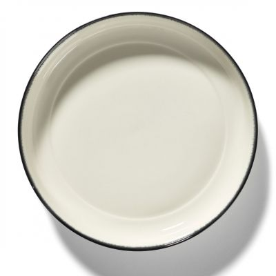 DE' HIGH PLATE 27 B&W VAR.A BOX OF 2 - ANN DEMEULEMEESTER