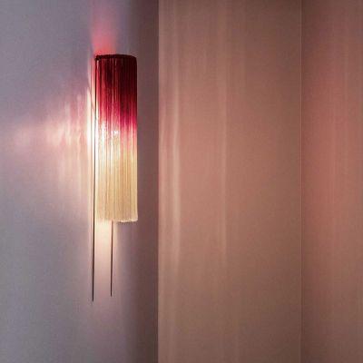 WALL LAMP EDO SCARLET/CREAM - ANN DEMEULEMEESTER