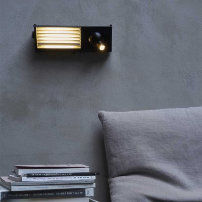 BINY BEDSIDE LIGHT B&W - DCW EDITIONS