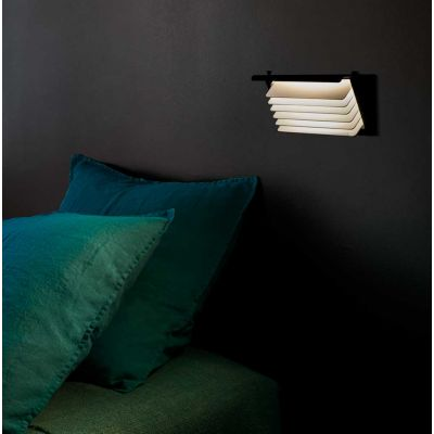 BINY BOX 1 WALL LAMP BLACK & WHITE - DCW EDITIONS
