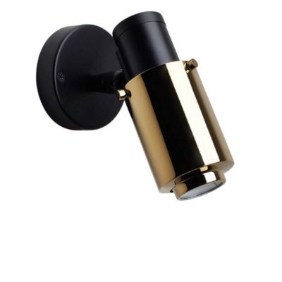 BINY SPOT WALL LIGHT BLACK GOLD NO STICK - DCW EDITIONS