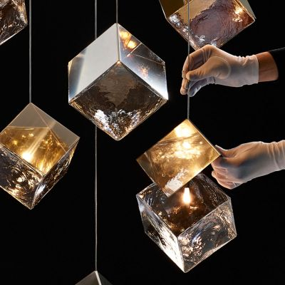 PYRITE PENDANT LIGHT - BOMMA