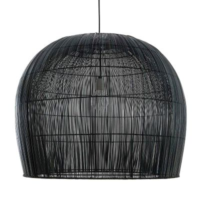 BURI BELL LARGE BLACK PENDANT LIGHT - AY ILLUMINATE