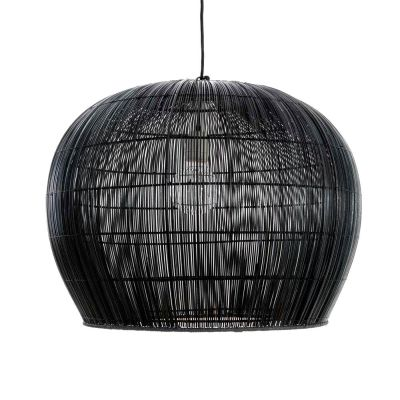 BURI BELL SMALL BLACK PENDANT LIGHT - AY ILLUMINATE