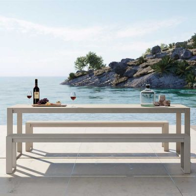EOS OUTDOOR COMMUNAL BENCH - CASE FURNITURE