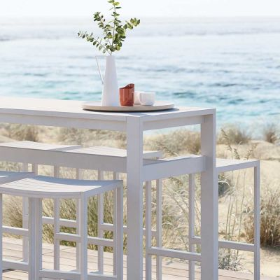 EOS OUTDOOR RECTANGULAR BAR TABLE - CASE FURNITURE