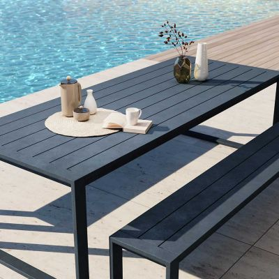 EX DSIPLAY EOS OUTDOOR COMMUNAL TABLE - CASE FURNITURE