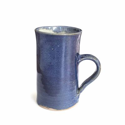 CERAMIC MUG BLUE - HAND MADE
