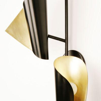 CIGALE DOUBLE SCONCE WALL LIGHT - ATELIER DE TROUPE